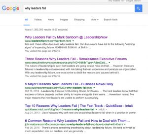 Why Leaders Fail - Google Search